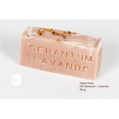 Savon Géramium / Lavande